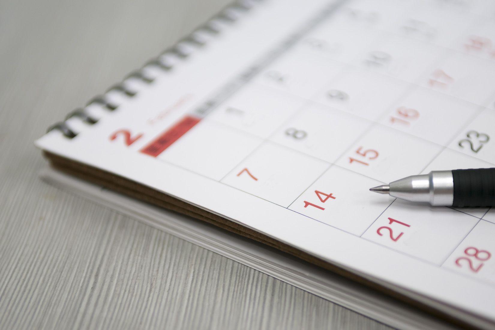 Calendrier des événements Adrexo 2017