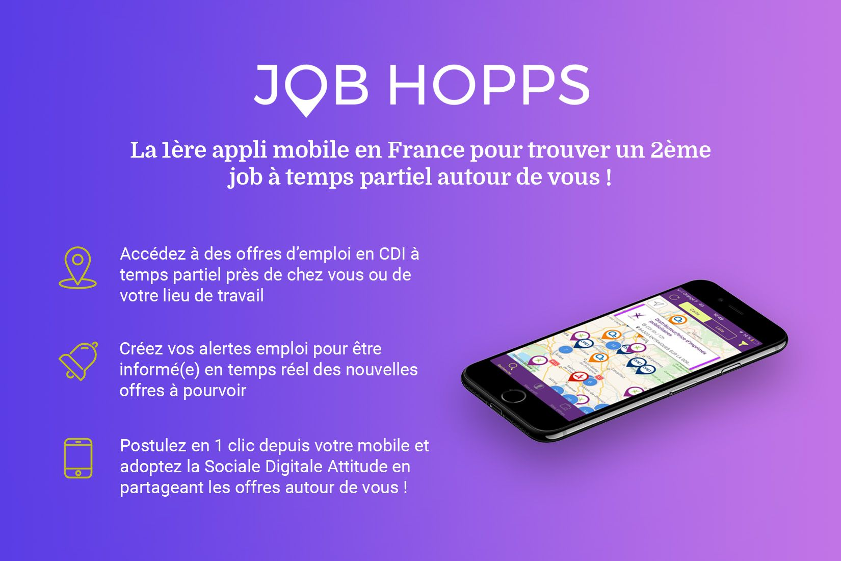 Explicatif de l'application Job Hopps